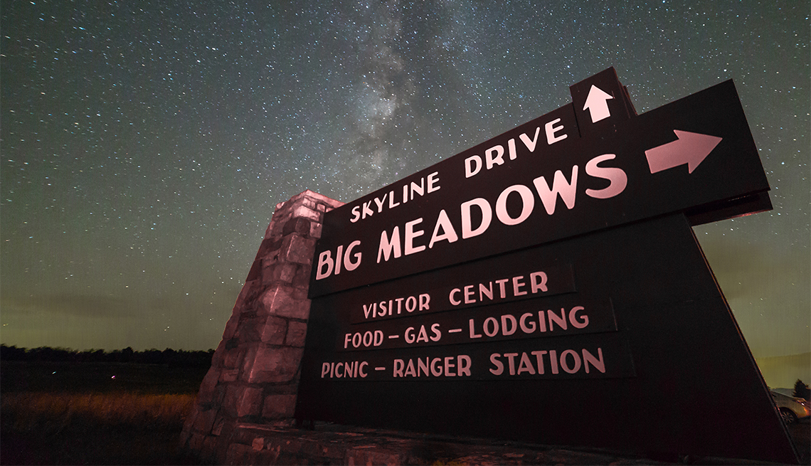 item 7 of Gallery image - Skyline Drive and Big Meadowns sign