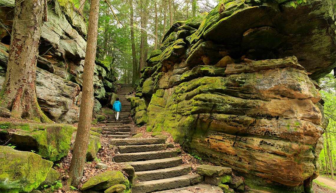 item 2 of Gallery image - Ledges Trail in Cuyahoga Valley National Park