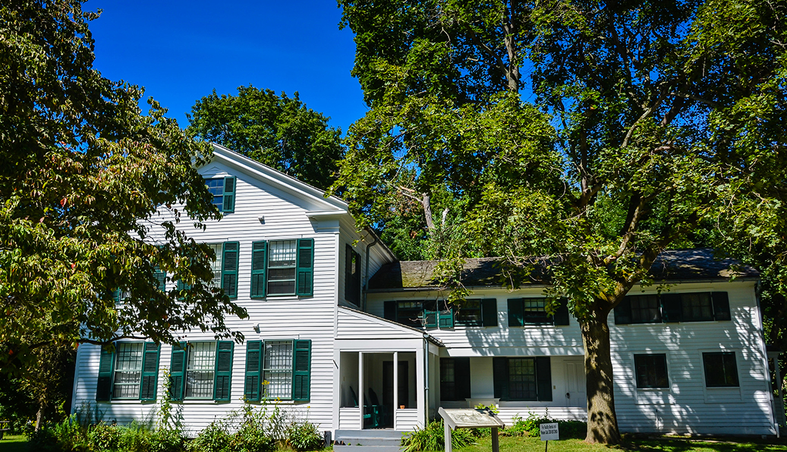 Stanford House is a historic 19th-century farm home built in the 1830s by George Stanford