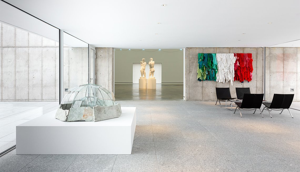 Muestra de arte italiana