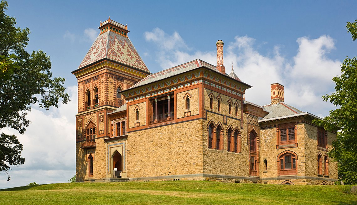 Edificio del sitio histórico estatal Olana