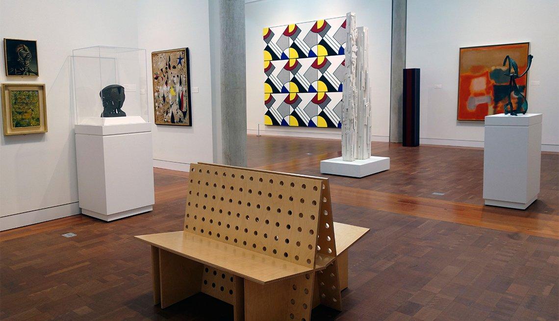 interior Vassar College art museum