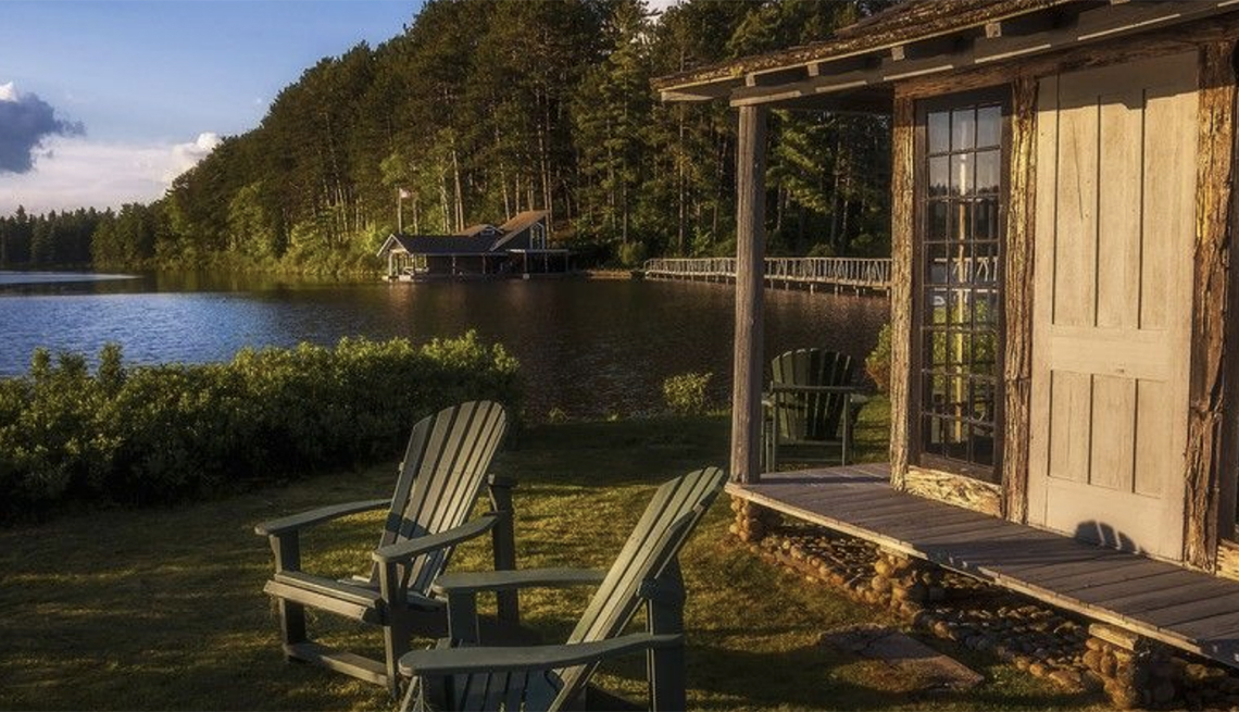 cabin in the Adirondacks