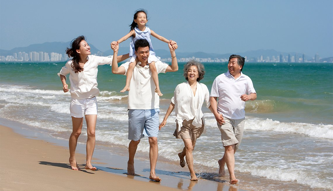 multi-gen family vacation
