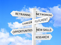 job hunting sites; job search; career path; retirement; retraining