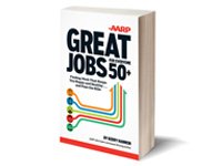 Kerry Hannon's new book is entitled Great Jobs for Everyone over 50+