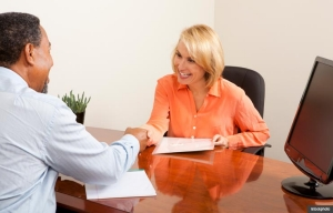 Meeting with resume-writing service