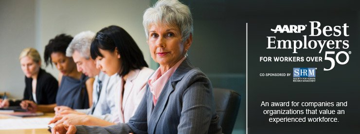 AARP recommends the best employers for people over 50+ years of age