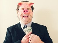 Pig mask millionaire on unemployment