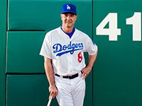 LA Dodgers manager Don Mattingly.