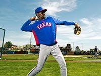 Ron Washington, gerente de los Texas Rangers  - Gerentes veteranos de béisbol.