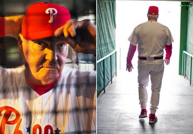 Charlie Manuel, gerente de los Philadelphia Phillies - Gerentes veteranos de béisbol.
