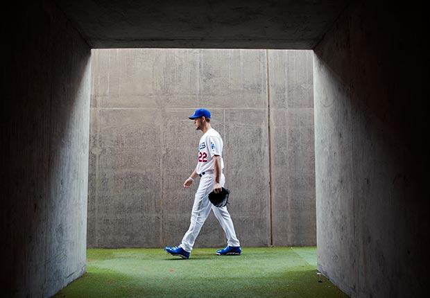 Clayton Kershaw, pitcher de los LA Dodgers  - Gerentes veteranos de béisbol.