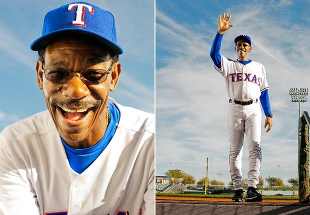 Ron Washington is the manager for the Texas Rangers.
