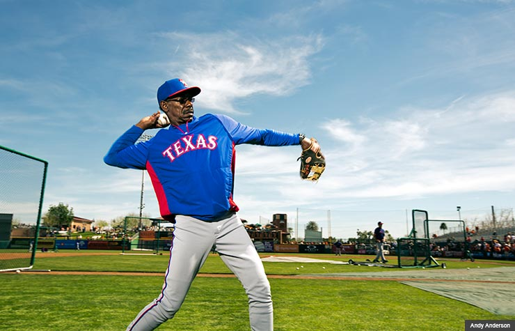 Ron Washington is the manager of the Texas Rangers baseball team.
