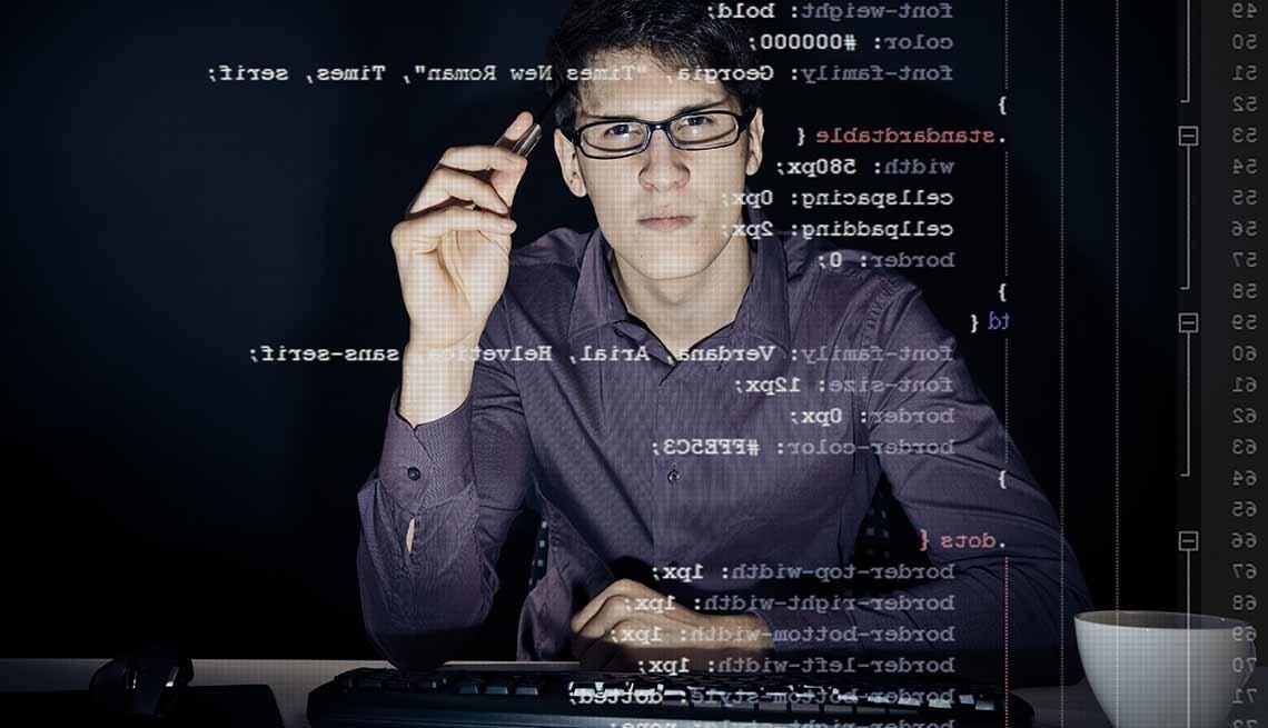 Trabajos con poco estrés, pero bien pagados como un programador de computadoras