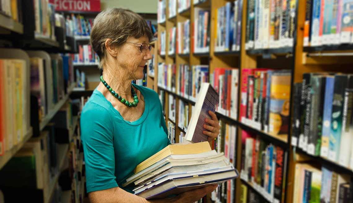 Trabajos con poco estrés, pero bien pagados como un bibliotecario