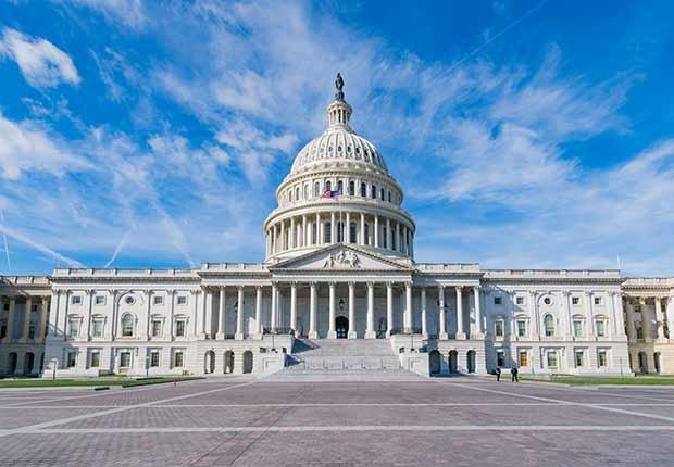 Imagen del Capitolio en Washington, DC - Trabajos con poco estrés, pero bien pagados