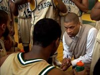 Former NBA coach Eddie Jordan returned to his roots and now coaches young high school players.