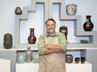 Second career recareering opportunities work fun fulfilling flexible nancy collamer pottery gallery crafts art ceramics