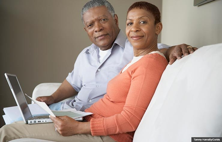 Couple planning for retirement