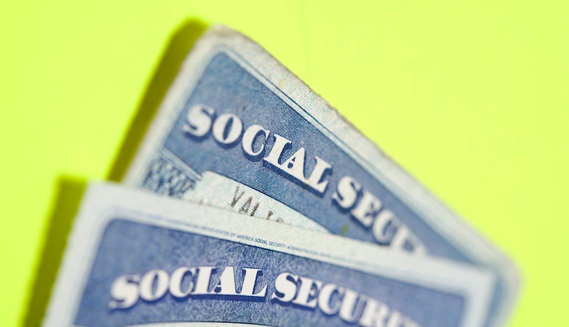 Imagen de la tarjeta del Seguro Social