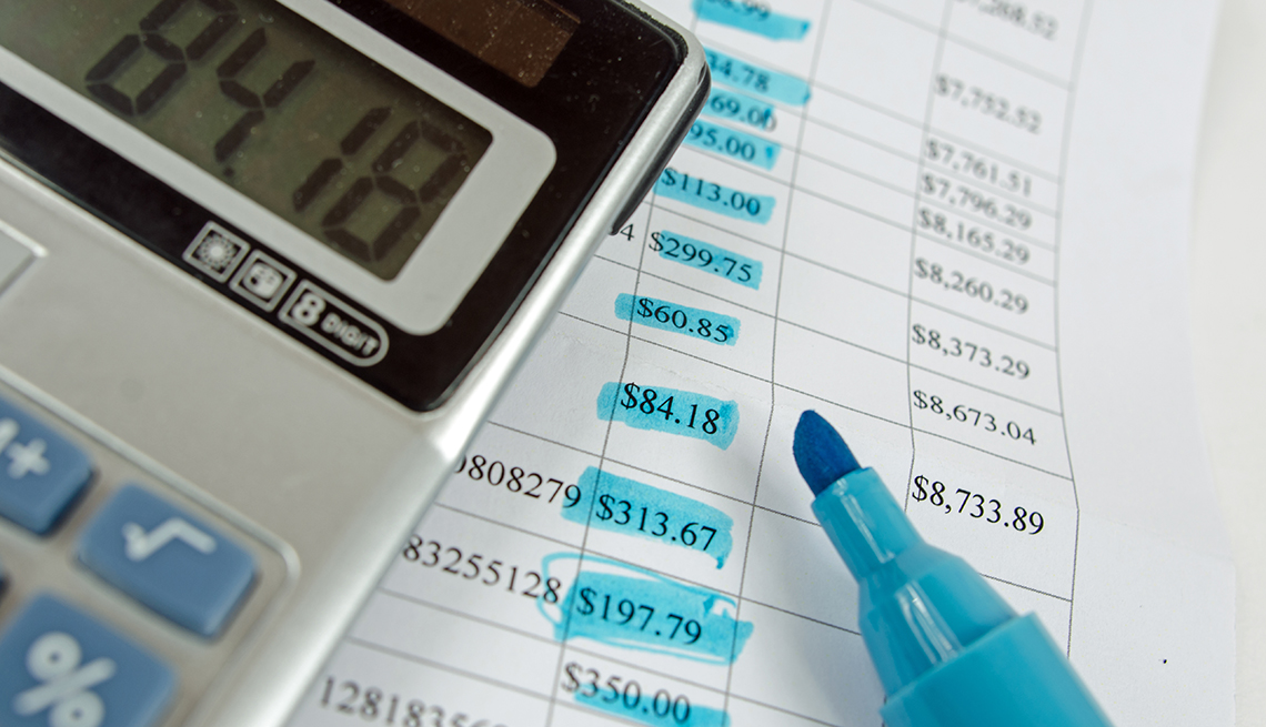 a calculator and budget to crunch the numbers and costs when deciding on going back to school