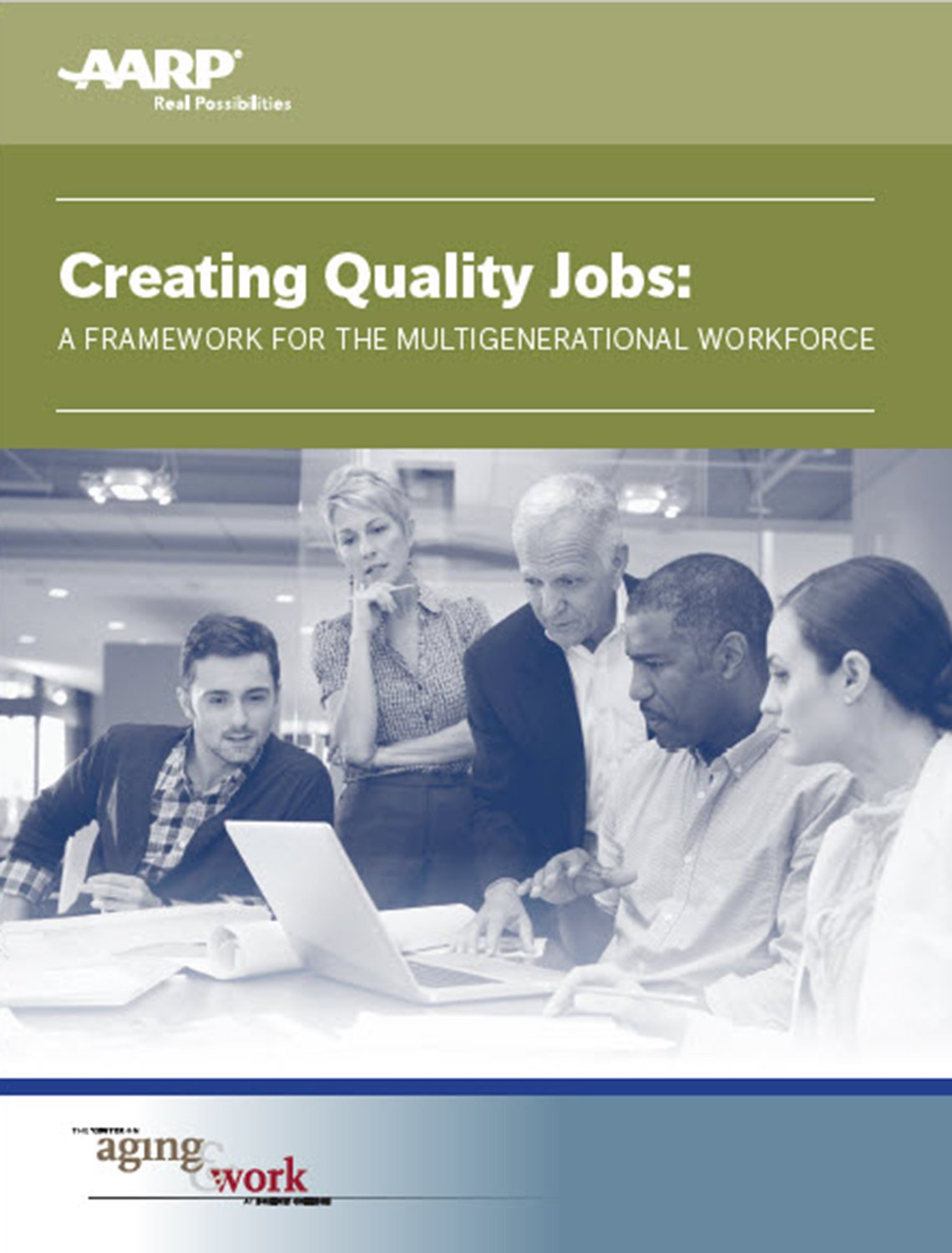 Creating Quality Jobs report cover
