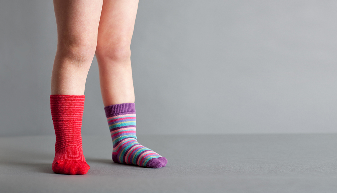 Child wearing different color socks, Biggest Mistake, Interview Question,