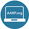 aarp.org on computer screen