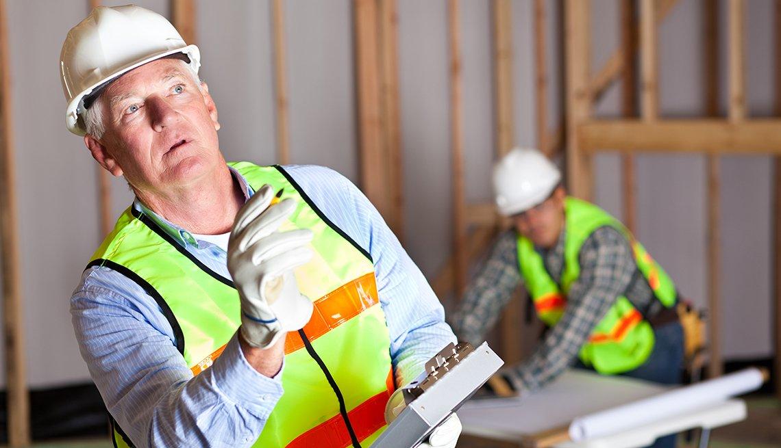 Trabajador de la construcción.