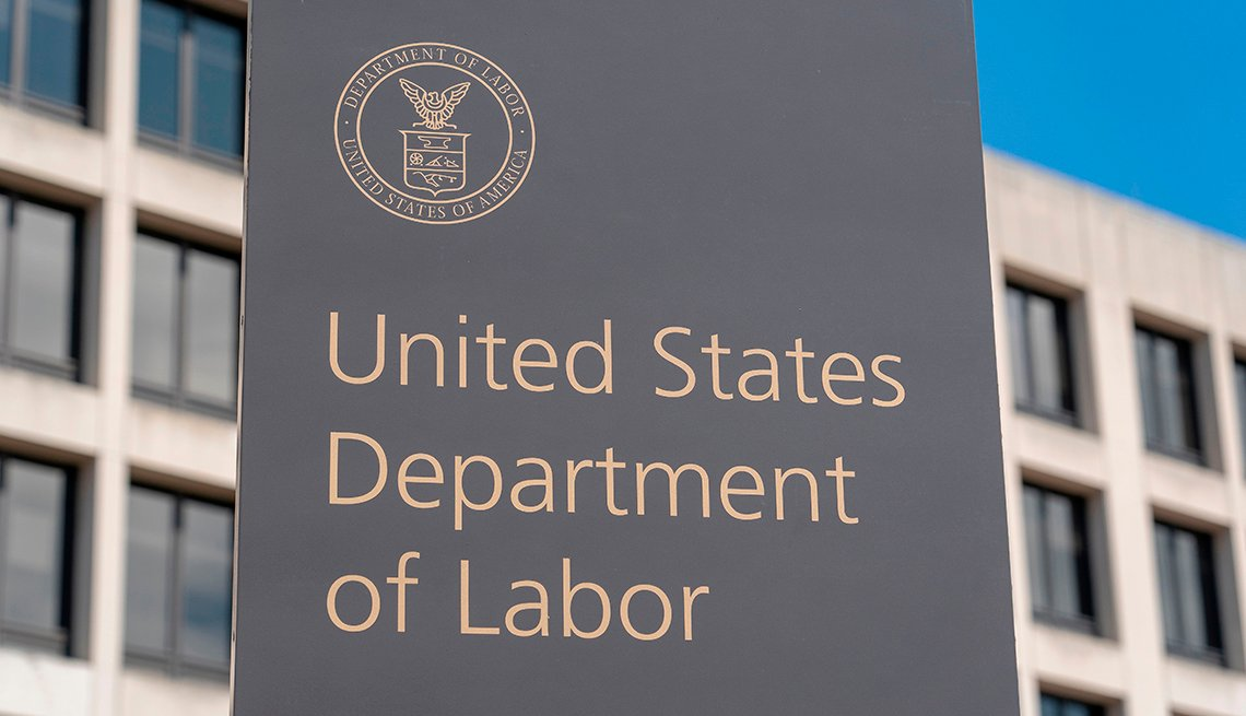 Department of Labor sign