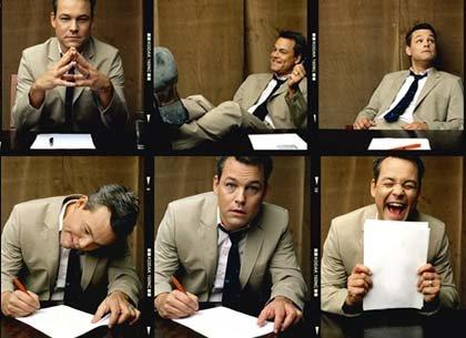 Secuencia de una entrevista de trabajo