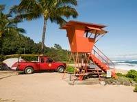 Playa en Kauai, Hawaii uno de los peores estados para trabajar