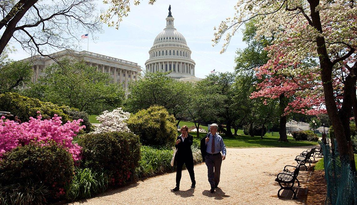 Estados Unidos, Washington DC, The Mall,