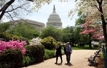 Capitolio en Washington DC - Cómo encontrar a un empleo con el gobierno
