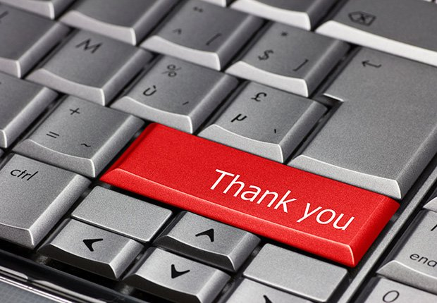Send Thank You Notes, Virtual Career Fair