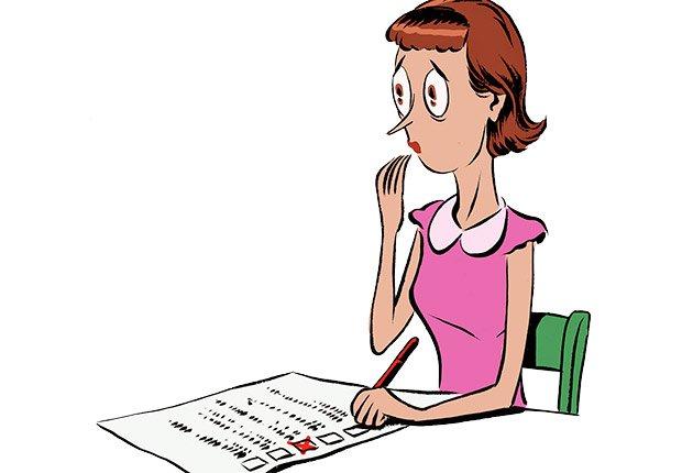 Ilustración mujer con un periódico  - Errores al buscar trabajo