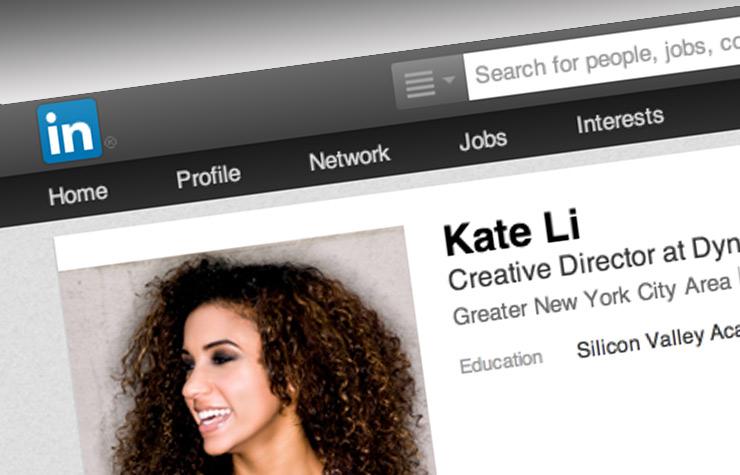 Página web de Linkedin Website - Consejos para mejorar tu perfil.