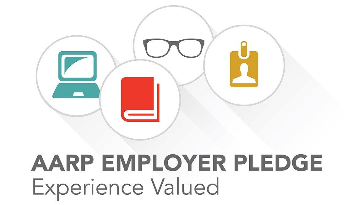 AARP Employer Pledge logo