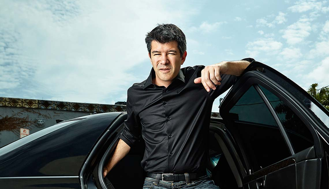 Travis Kalanick, CEO and founder of Uber car services, Conversation with Travis Kalanick