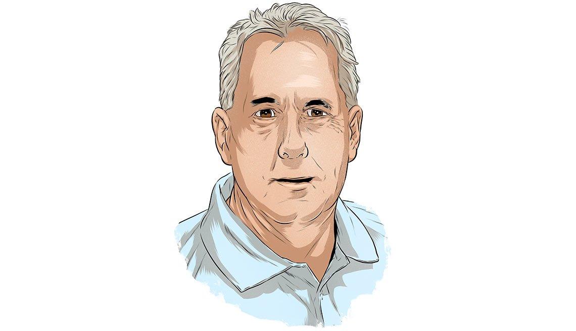Ilustración de Jeff DeVonde - Cómo encontrar empleo a cualquier edad
