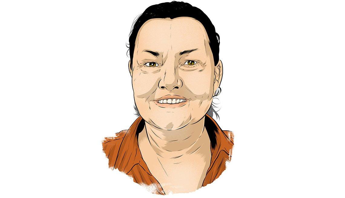 Ilustración de Traci Blackstock - Cómo encontrar empleo a cualquier edad