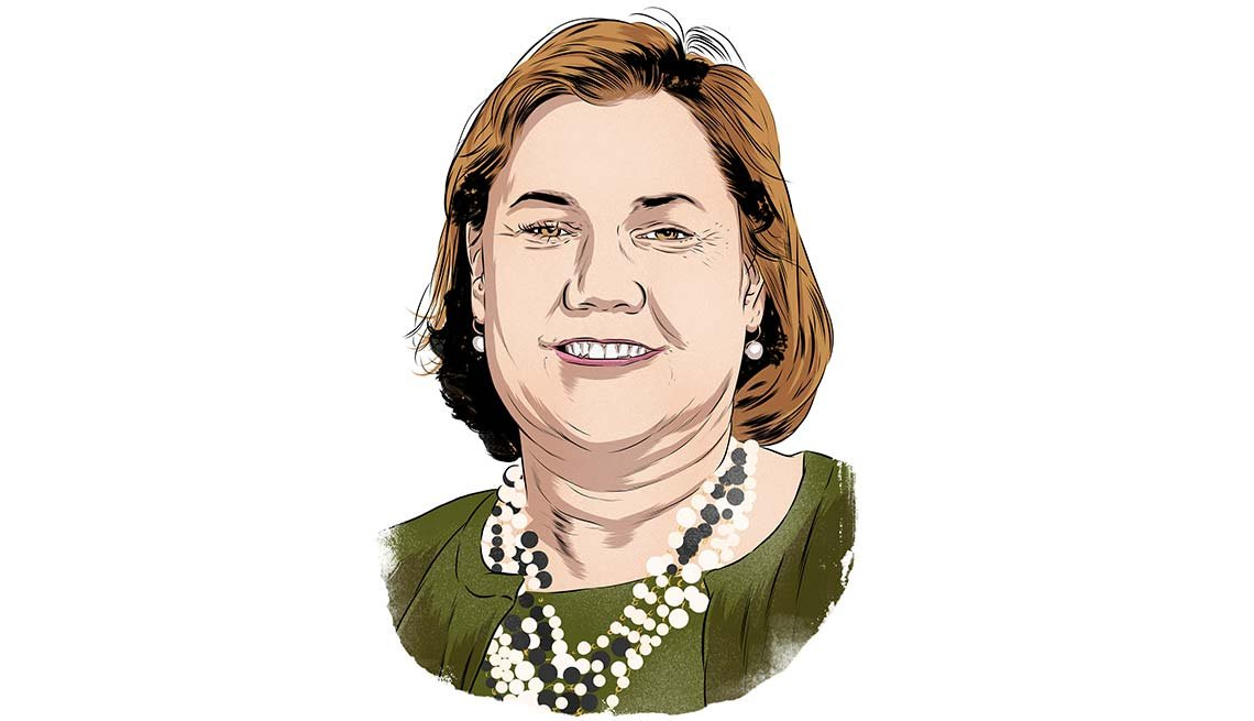Ilustración de Claire-Rosati - Cómo encontrar empleo a cualquier edad