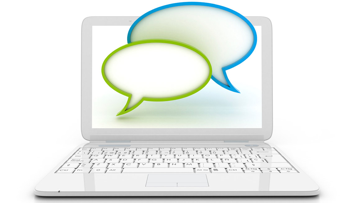 Company recruiters may be in the chat room during a virtual career fair