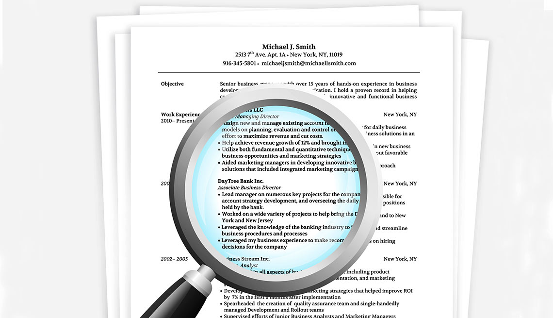 Update your résumé and social media accounts when job searching