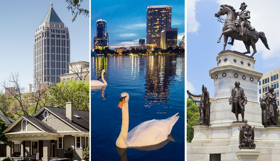 Best cities to find a husband