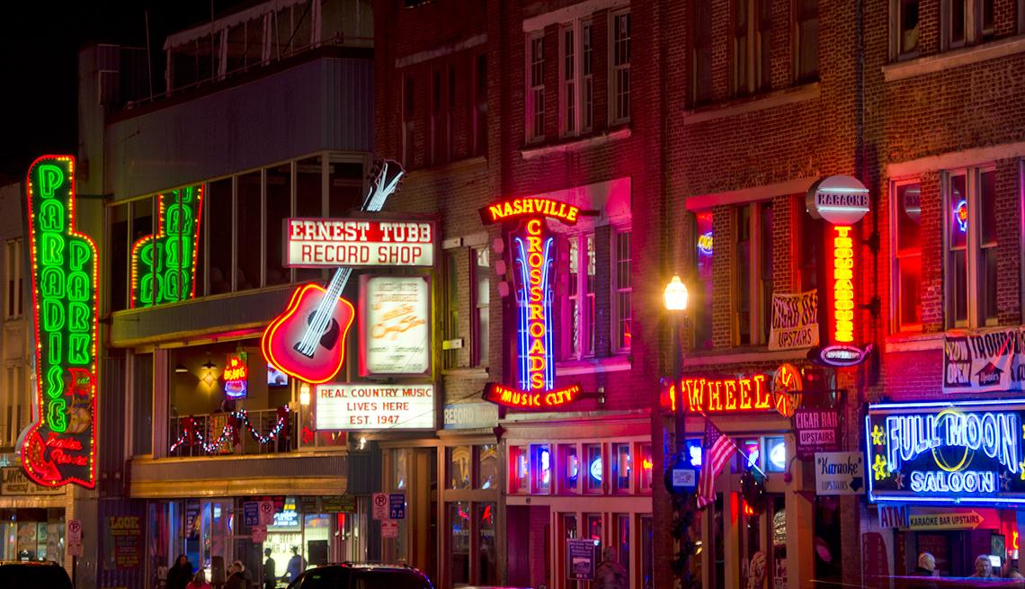 Top Cities for 50+ Job Seekers -  Nashville