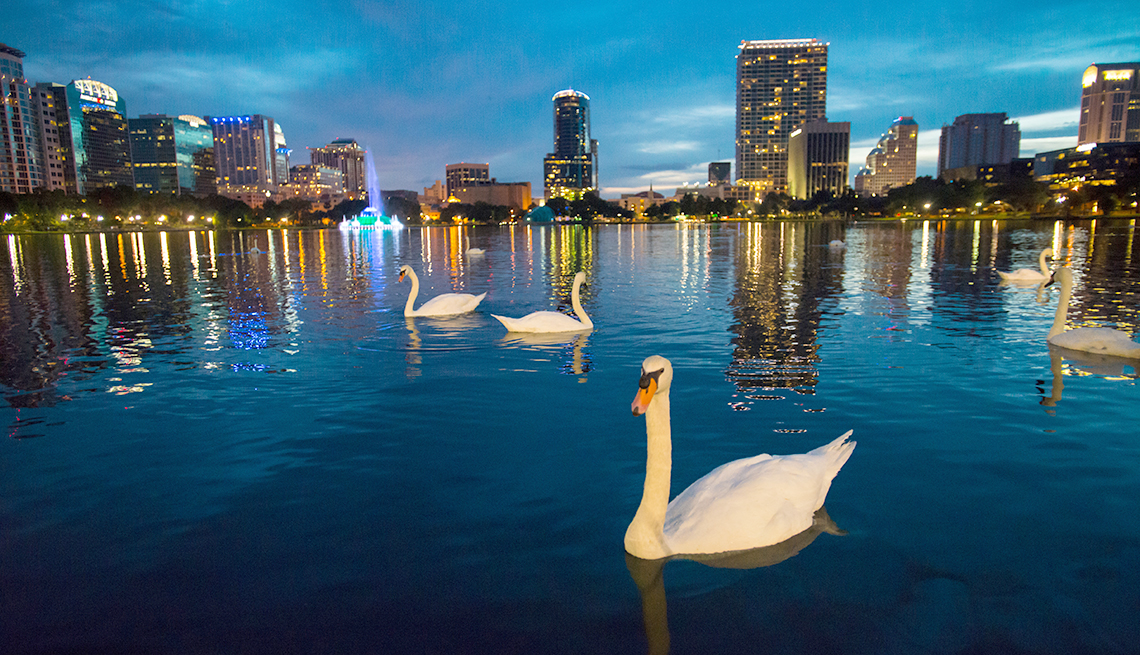 Top Cities for 50+ Job Seekers - Orlando