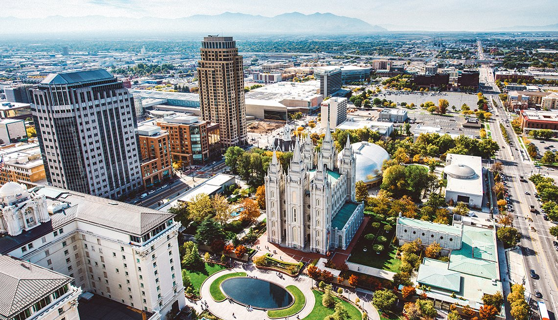 Top Cities for 50+ Job Seekers -Salt Lake City